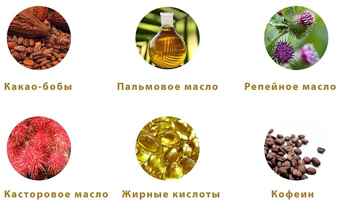 Состав шоколада Doctor Chocolate для волос