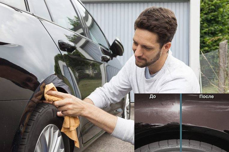 Как применять жидкое стекло для авто Silane Guard